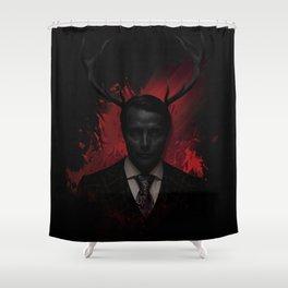 Hannibal Wendigo Shower Curtain