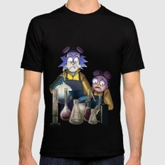 Breaking Morty X-LARGE Mens Fitted Tee Black