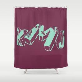 Ilex Shower Curtain