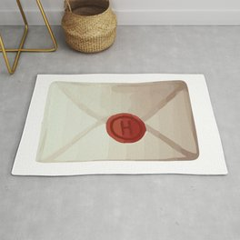 Magic cute Letter of acceptance Rug