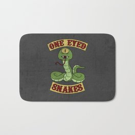 One Eyed Snakes Bath Mat