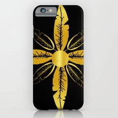 Golden Flower Slim Case iPhone 6s