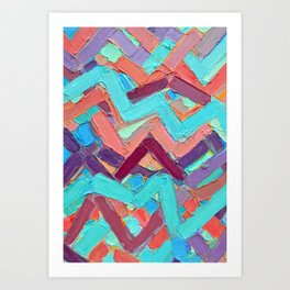 Summer Paths No. 1 Original Art Print