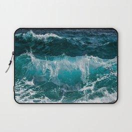 Breakers Rolling In To Shore Laptop Sleeve