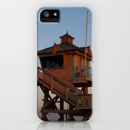 Guard Tower At Dusk iPhone Case
