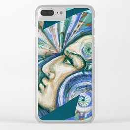 The power of your mind Clear iPhone Case