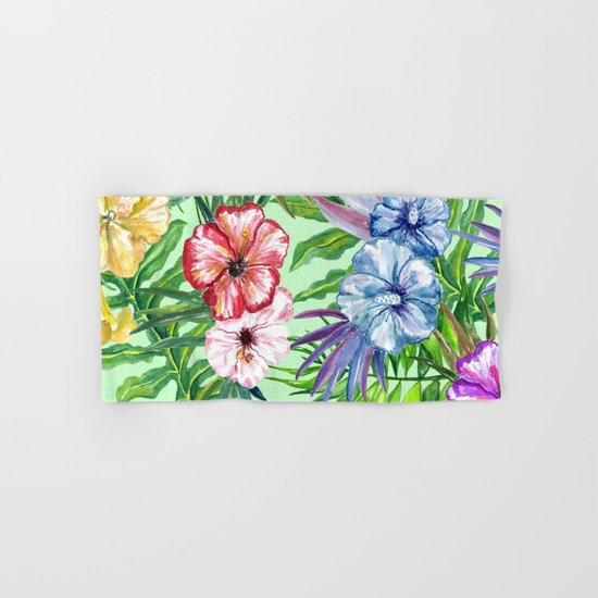 Tropical Summer #14 Hand & Bath Towel