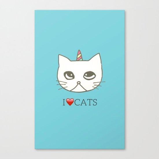 cat-102 Canvas Print