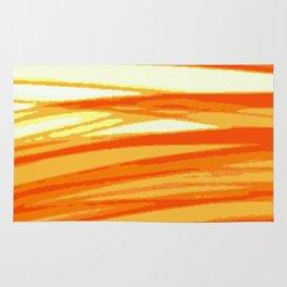 Orange Blur Rug