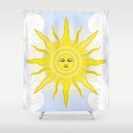 Sun in Splendour Shower Curtain