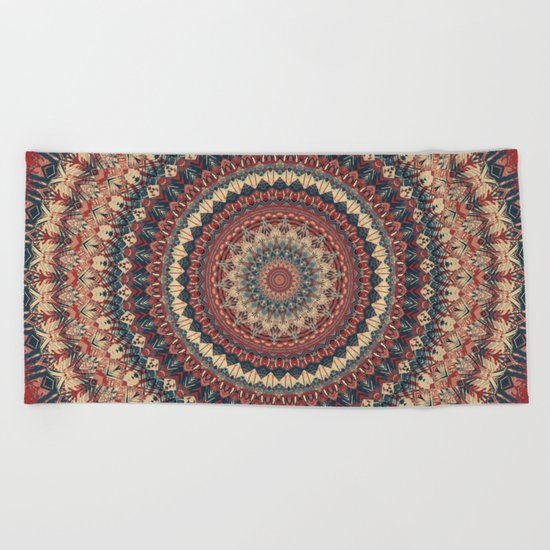 Mandala 595 Beach Towel