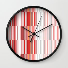 House 8 New Lines Wall Clock