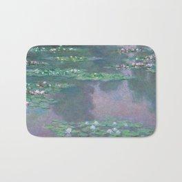 Water Lilies Monet 1905 Bath Mat