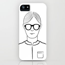 Poker Face iPhone Case