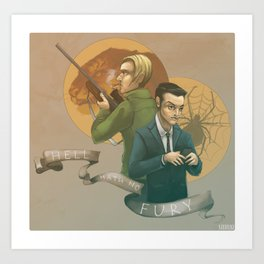 Hell Hath No Fury Art Print