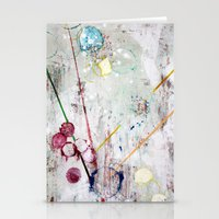 sprinkles Stationery Cards featuring Sprinkles by Leigh Ann Williams
