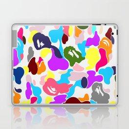 B APE colorful pattern Laptop & iPad Skin