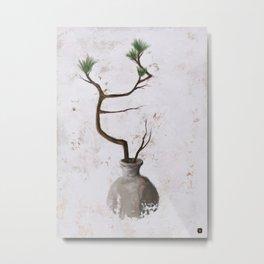 Ikebana No.1 Metal Print