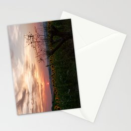Sunrise from Morro d'Alba, Italy Stationery Cards