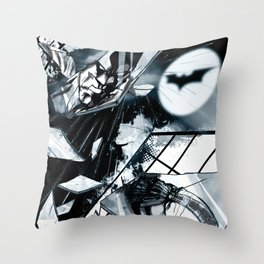 Glass is Broken Throw Pillow