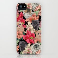 Because Cats iPhone (5, 5s) Slim Case
