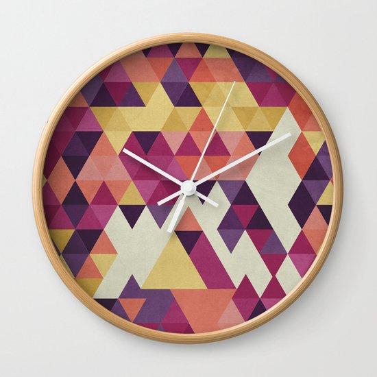 Geometri III Wall Clock