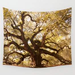 Angel Oak 5 Wall Tapestry