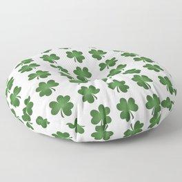 Find The Four Leaf Clover Floor Pillow