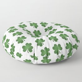 Find The Four Leaf Clover Floor Pillow