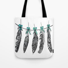 Feather Bunting 2 Tote Bag