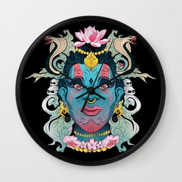 Hindu God Shiva Wall Clock