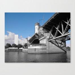 Burnside Bridge Canvas Print