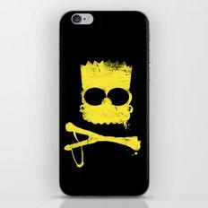 Pochoir - Bart iPhone & iPod Skin