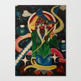 Shani the Invincible  Canvas Print