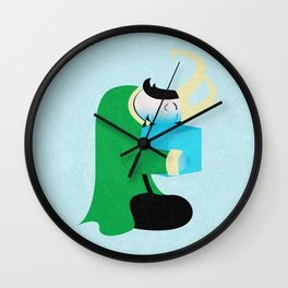 Sleepover loki Wall Clock