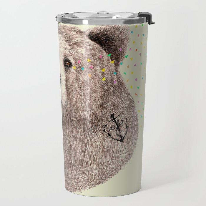 Sailor Bear Travel Mug
