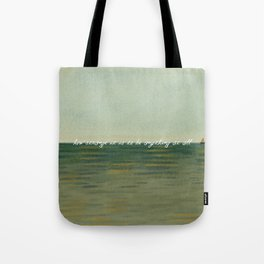 How strange it is to be anything at all Tote Bag
