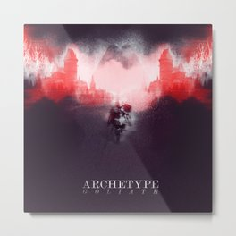 Archetype: Goliath Metal Print