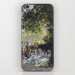 The Parc Monceau iPhone Skin