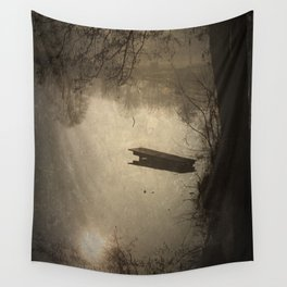 Mysterious Morning Wall Tapestry