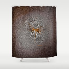 Embossed Shower Curtain