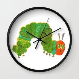 Cute The Very Hungry Caterpillar Wall Clock