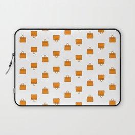 Orange Birkin Vibes High Fashion Purse Illustration Laptop Sleeve