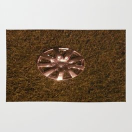 Wheel Lay On The Lawn Rug