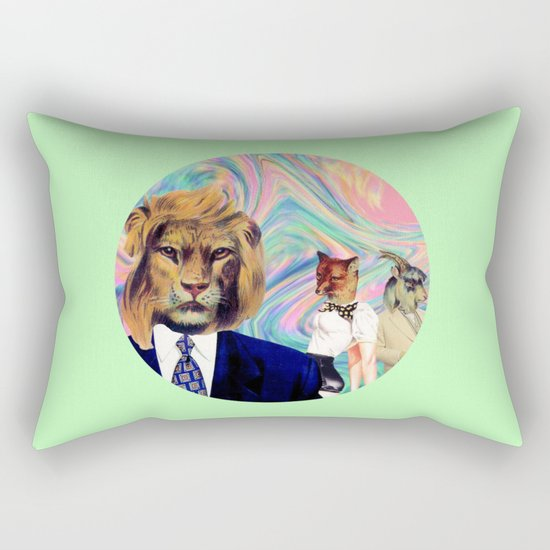 Darwinism Rectangular Pillow