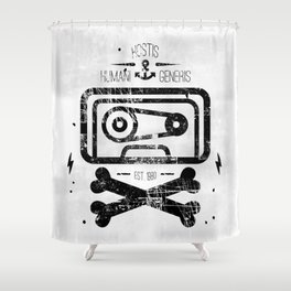 Pirate Tape Shower Curtain