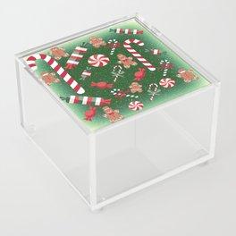Christmas Candy Cheer Acrylic Box