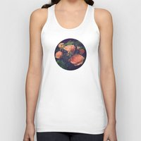 antique Tank Tops featuring Antique Rose by A Wandering Soul