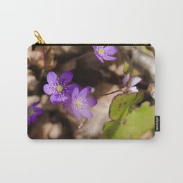 Anemone hepatica Carry-All Pouch