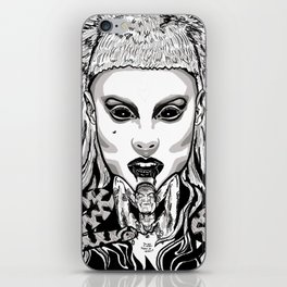 Die Antwood Inspired Illustration iPhone Skin